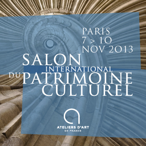 Salon International du patrimoine culturel 2013